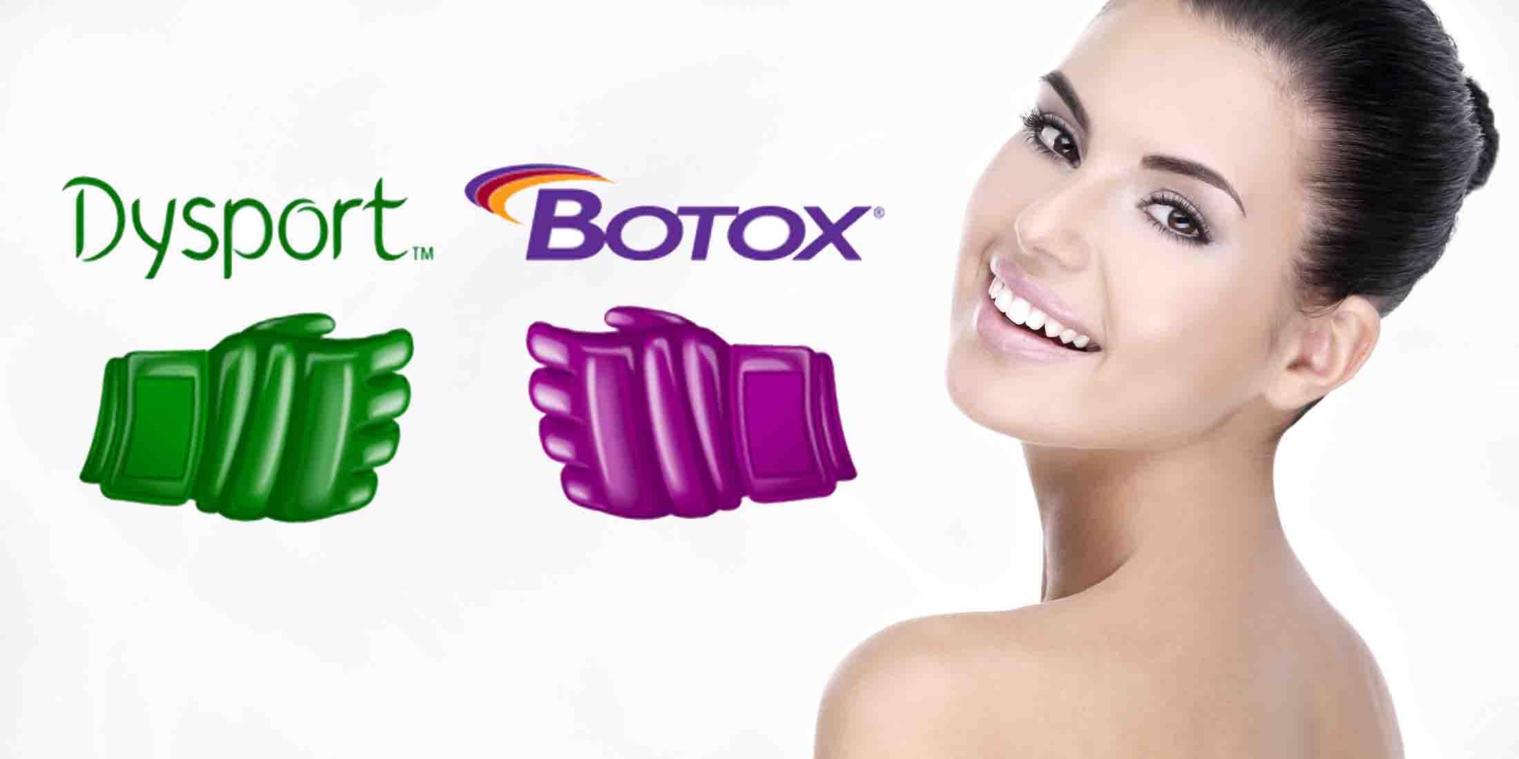 Botox vs Dysport