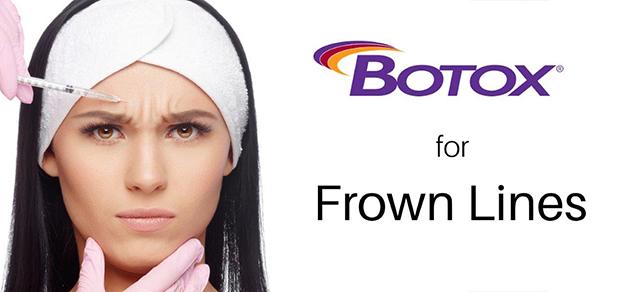 Botox Toronto Frown Lines