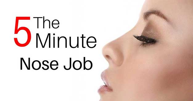 Nose Filler Toronto The 5 Minute Nose Job