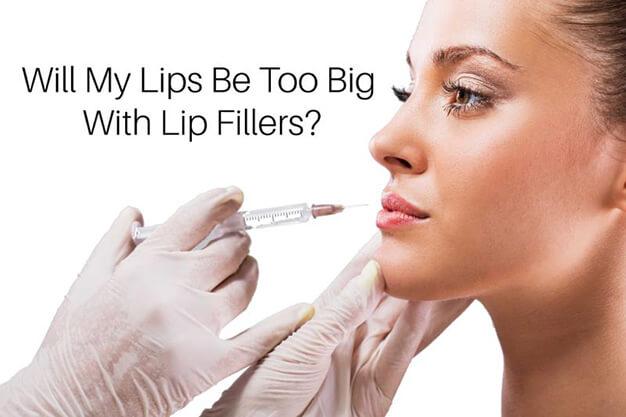 Lip Fillers Toronto-How Big Will My Lips Get?